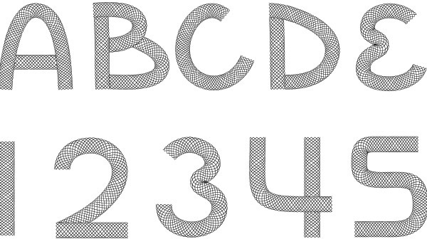 Wire Font