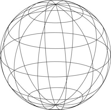 Wire Globe clip art