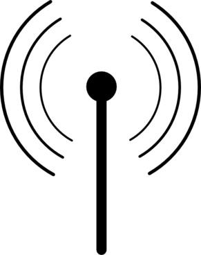 Wireless Wifi Symbol clip art