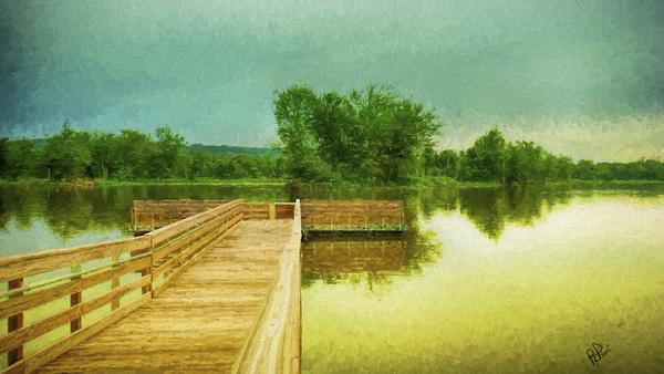 wisconsin river scene