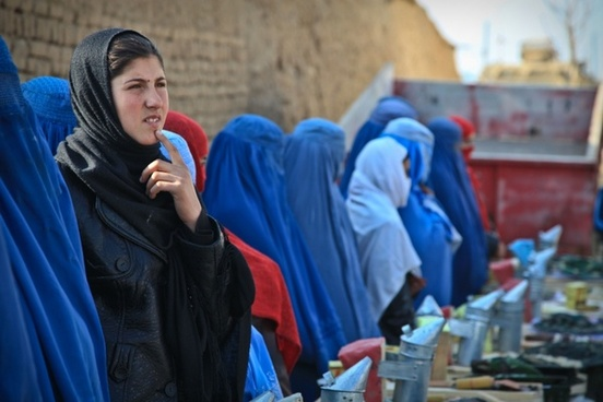 woman afghanistan ceremony