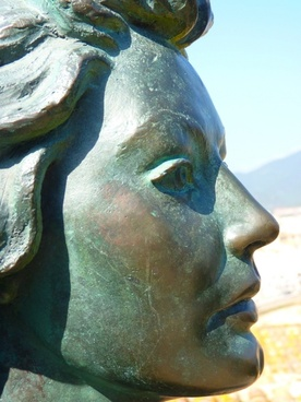 woman face profile