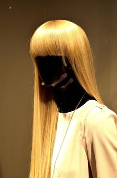 woman figurine black