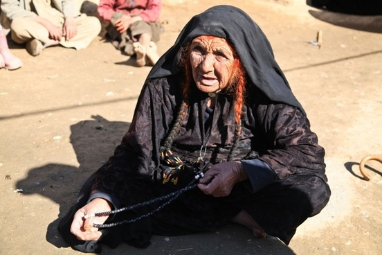 woman old afghanistan