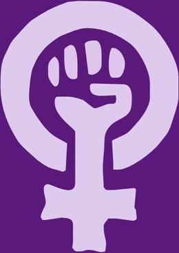 Woman Power Logo clip art
