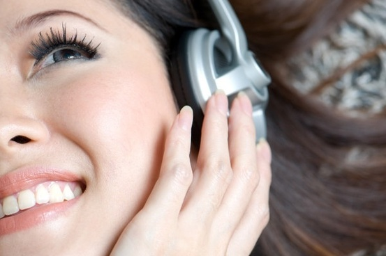woman to enjoy music highdefinition picture 2