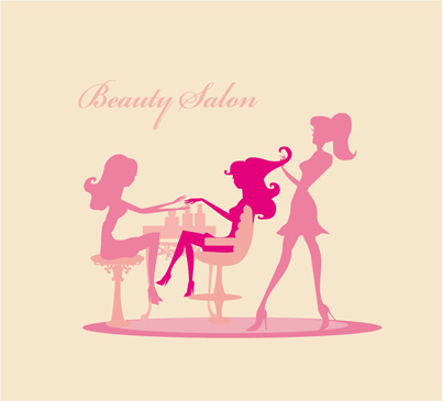 Woman with beauty salon vector Free vector in Encapsulated ...