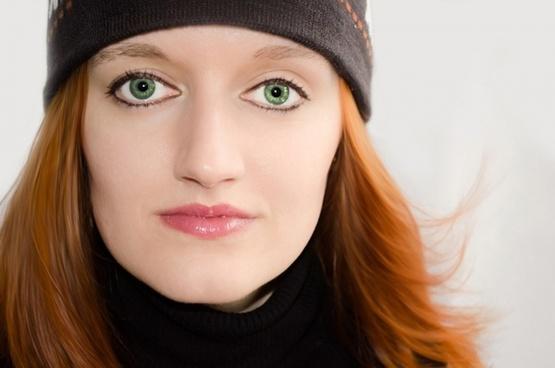 woman women face