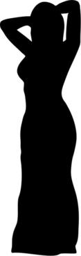 Women wearing dress