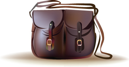 womens handbag design vector graphic