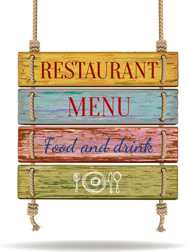 wood and rope menu
