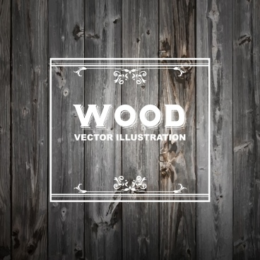 wood background realistic retro design