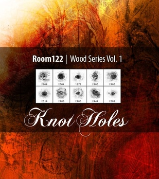 Wood Series Vol. 1 Knot Holes