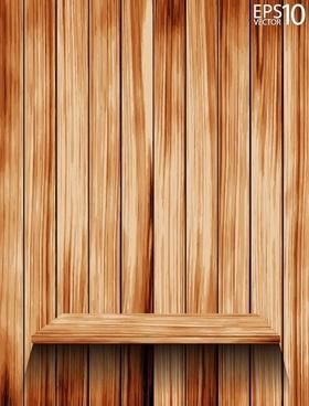 wooden background 05 vector