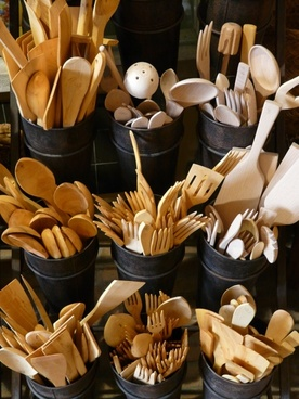 wooden cutlery cutlery wood