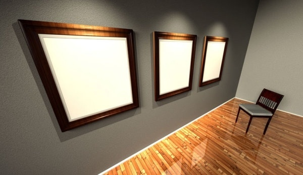 wooden frames for 02 hd pictures
