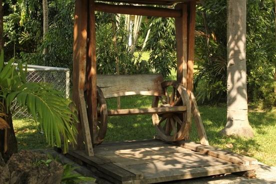 wooden swing 1