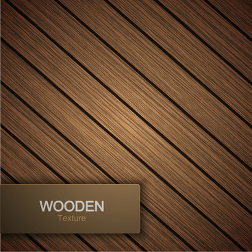 wooden texture background design vector