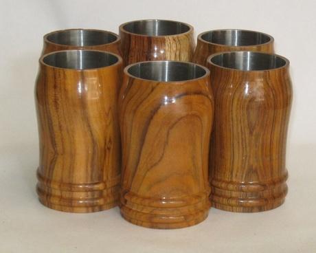 wooden tumbler