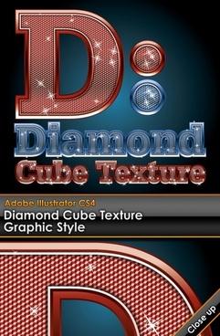 wordart diamond embedded vector
