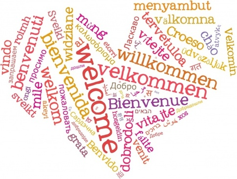 wordcloud welcome heart 1