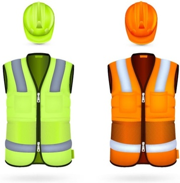 work clothing templates vector