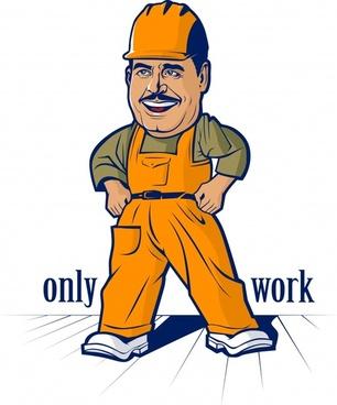 workers vector cartoon characters