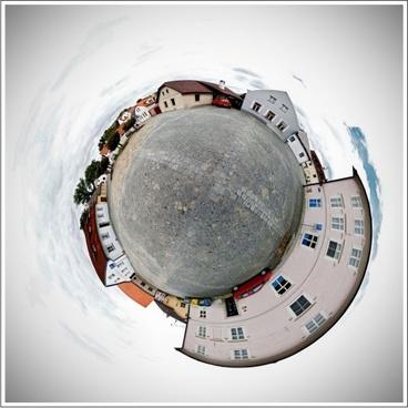 world the globe antique