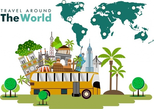 Vector World Travel Cartoon Free Vector Download 21 930 Free Vector For Commercial Use Format Ai Eps Cdr Svg Vector Illustration Graphic Art Design