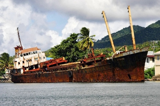 wreck portsmouth dominica