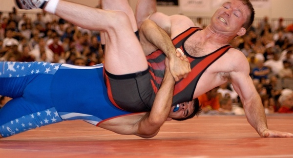 wrestlers wrestling competition
