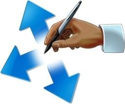 Write on arrow