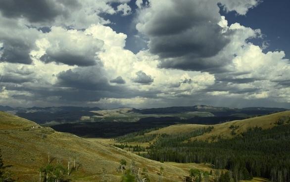 wyoming usa landscape