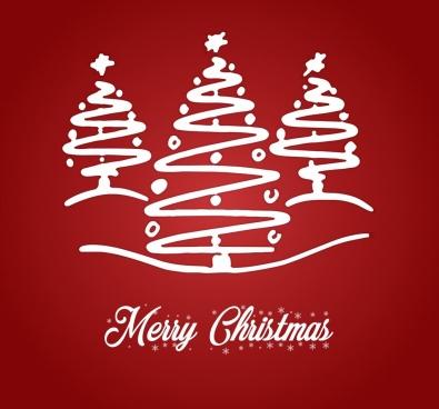 xmas christmas post card