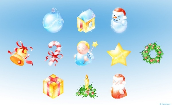 xmas pack icons pack