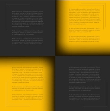 yellow and black template background vector
