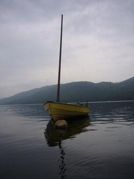 yellow boat lake