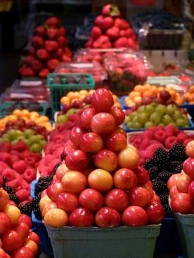 yellow cherries granville market