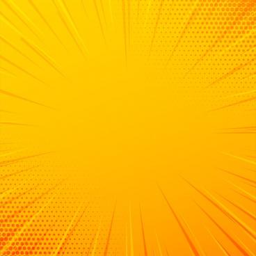 yellow comic zoom