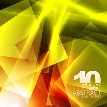 yellow dynamic background 03 vector