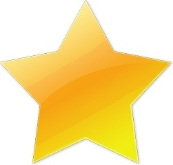 Yellow five star
