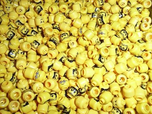 yellow heads lego