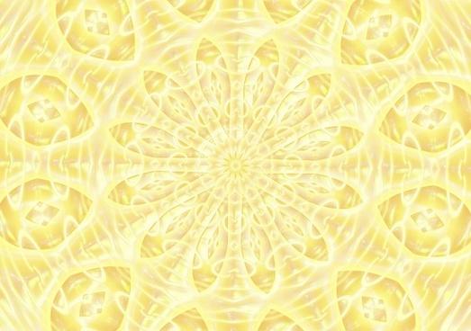 yellow lacquered kaleidoscope