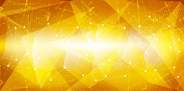 Yellow with black modern abstract vector background Free ...