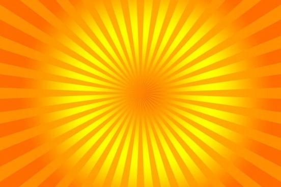 yellow rays 2