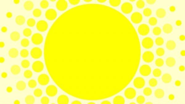 yellow sun background