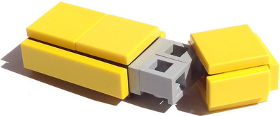 yellow usb
