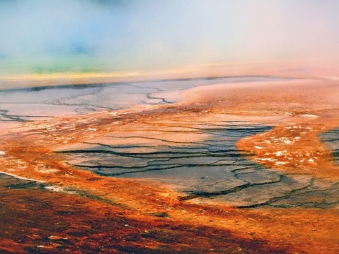 yellowstone national park wyoming landscape