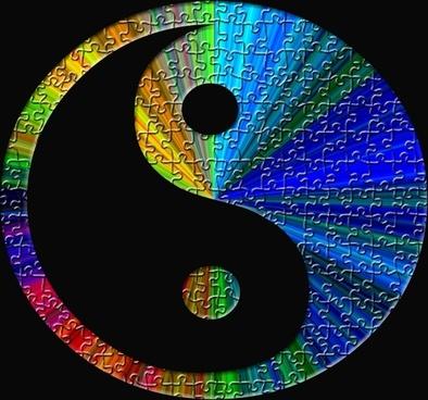 yin-yang puzzle play