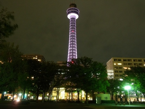 yokahama japan marine tower